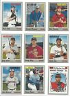 2019 TOPPS HERITAGE MINOR LEAGUE BASE -  PROSPECTS, RC's -  WHO DO YOU NEED!!!!Baseball Cards - 213