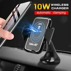QI Automatic Clamping Wireless Charging Car Charger Mount Air Vent Phone Holder