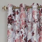 100% Thermal Lined Grommet Floral Blackout Curtains - Assorted Sizes & Colors