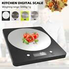 5kg Digital LCD Electronic Kitchen Scales Stainless Steel Cooking Food Weighing