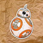 Star Wars BB-8 Droid Sticker Decal The Last Jedi BB* Movie Rey $3.0 USD on eBay