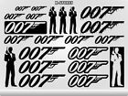 JAMES BOND 007 Stickers Decals Car Truck Motorcycle Smartphones Computers 3A $4.99 CAD on eBay