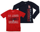 MLB Youth St Louis Cardinals Fan Two Piece Performance T-Shirt Combo Set on Ebay