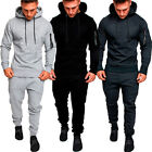 USA Mens Tracksuit Top Bottom Sport Jogging Sweat Suit Trousers Pant Hoodie