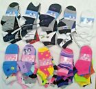 Lot 6 12 Pairs Kids Ankle Socks Toddler Boy Girl Casual Multi Color Size 6 8