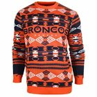 Forever Collectibles NFL Men's Denver Broncos 2015 Aztec Ugly Sweater $39.99 USD on eBay