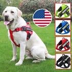 Service Dog Harness Adjustable Pet Vest Collar Walk Out for Small & Large Patch