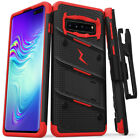 For Samsung Galaxy S10 5G S10e S10 Plus Holster ZIZO Stand Case Cover