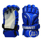 Warrior S17 Evo Adult Lacrosse Gloves - Royal NEW Lists  140