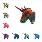 Unicorn Head 3d Wall Sculpture Home Decoration Art Accessories Stag Diy Statue
