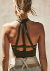 NEW Free People Movement Seamless Finders Keepers Crop Top Moss XS/S-M/L 76.80