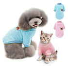 Small Dog Sweater Embroidery Chihuahua Clothes Cat Pet Jumper Pomeranian Yorkie