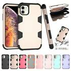 Hybrid Armor Shockproof Hard Rubber Case Cover For iPhone 7 8 P XR XS 11 Pro Max