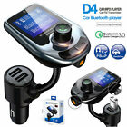 Car Bluetooth Wireless FM Transmitter MP3 Player Radio Adapter USB Charger Kit