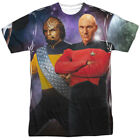 Star Trek Picard and Worf One Side Sublimation Adult T-shirt on eBay