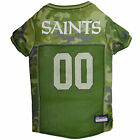 Pets First New Orleans Saints Camo Jersey $23.99 USD on eBay