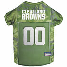 Pets First Cleveland Browns Camo Jersey $27.99 USD on eBay