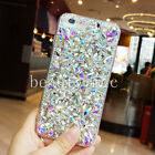 Diamond Bling Luxury Fashion Rhinestone Sparkle Clear Crystal PC Hard Back Case
