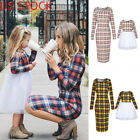 US STOCK Mother and Daughter Clothes Parent child dresses Family Matching Outfit