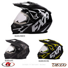 New 2020 FXR OCTANE X DEVIANT Snowmobile HELMET Black Ops White Hi-Vis MD LG XL
