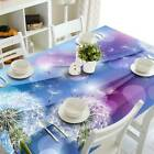 Dandelion Flying Printing Tablecloth Floral Table Runner Doily For Wedding Party