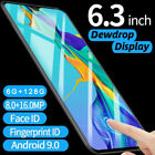P30 Pro Android Mobile Phone 6gb+128gb Face Fingerprint Recognition Smartphone