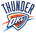 Oklahoma City Thunder Basketball Color Logo Sports Decal Sticker - Free Shipping on eBay