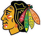Chicago Blackhawks NHL Hockey Color Logo Sports Decal Sticker - Free Shipping $30.00 USD on eBay