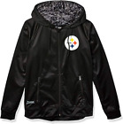 Zubaz NFL Men's Pittsburgh Steelers Full Zip Digital Camo Hood Hoodie, Black $49.99 USD on eBay