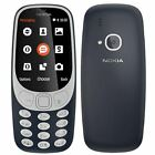 100% Original Nokia 3310 Dual SIM 2MP Camera Sim Free Basic Unlocked Cell Phone