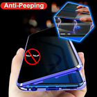 360 Privacy Anti-Spy Full Glass Magnetic Case Cover for Samsung Galaxy S8 S9 S10 $14.99 USD on eBay