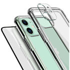 For iPhone 11/11 pro/ 11 Pro Max Clear Case Shockproof Protective Lens Cover 9H segunda mano  Embacar hacia Argentina