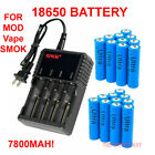 18650 Battery 3.7V 7900mAh Li-ion Rechargeable Batteries for LED Flashlight Lot