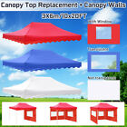 10X20FT Canopy Top Replacement + Canopy Walls Cover Tent Waterproof UV