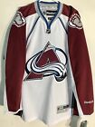 Reebok Premier NHL Jersey Colorado Avalanche Team White sz XL $11.5 USD on eBay