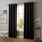 Ring Top Thermal Insulated Blackout Window Curtain For Bedroom Lliving Room New