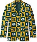 FOCO NFL Men's Green Bay Packers Patches Ugly Business Jacket, Yellow $44.5 USD on eBay