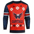 Forever Collectibles NHL Men's Washington Capitals Printed Ugly Sweater $44.95 USD on eBay