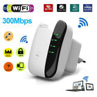802.11 Wifi Repeater 300Mbps Wireless-N AP Range Signal Extender Booster EU US Q