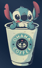 Lilo and Stitch Sticker Ohana Coffee free shipping ohana coffee kids disney