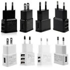 5V 2A 1 2 3-Port USB Wall Adapter Charger US/EU Plug For Samsung S5 S6 iPhoneD_X