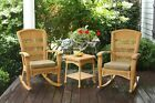 3-Pc-Outdoor-Patio-Handwoven-Wicker-Rocking-Chair-Set-Side-Table-Cushion-Porch-
