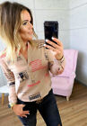 Womens Work Shirt Blouse Ladies Pullover Casual Tee Party Loose Hiliday Tee Tops