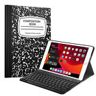 Keyboard Case Stand Magnetically Detachable for iPad 7th Generation 10.2'' 2019