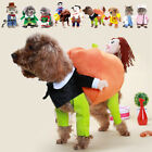 New Dog Pets Cat Fancy Dress Costumes Outfits Christmas  Halloween Party Clothes