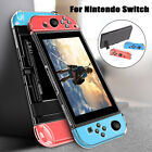 For Nintendo Switch Joy-Con Controller Clear Hard Dockable Protective Case Cover