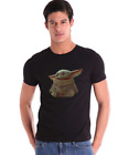 Star Wars The Mandalorian The Child Baby Yoda Kid Sitting T-shirt