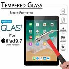 """For iPad 5th 6th Generation 9.7"""" Pro HD Clear Tempered Glass Screen Protector"""