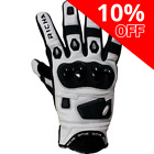 Richa Rock Vented Summer Motorcycle Gloves White