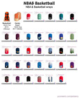 Officially licensed NBA Jamberry Nail Wraps - Half Sheets on eBay